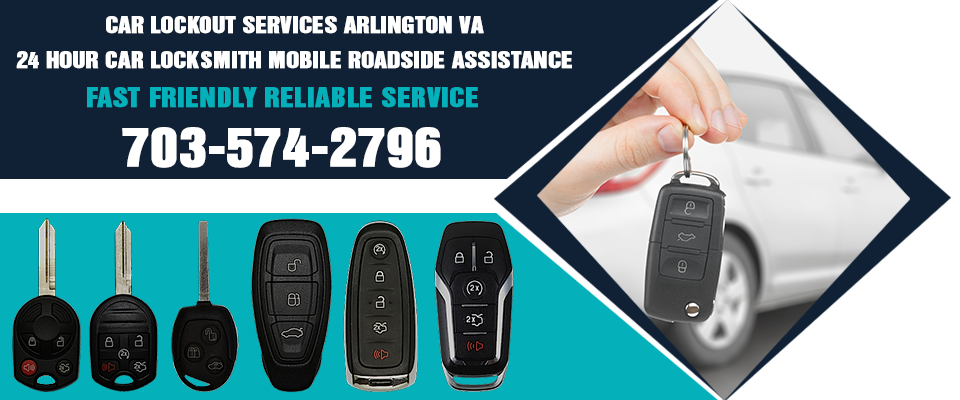Car Locksmith Arlington VA banner